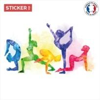 Sticker postures de yoga