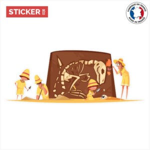 Sticker archeologue