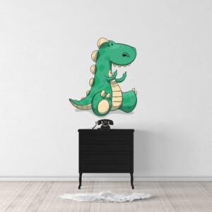 Sticker dinosaure fuck