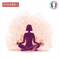Sticker meditation mandala