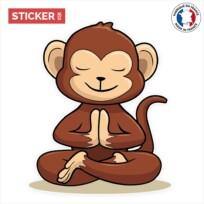 Sticker meditation singe
