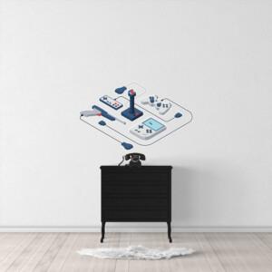 Sticker 3D Isométrique