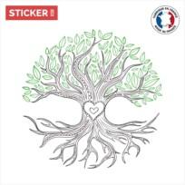 Sticker Arbre De Vie Chene