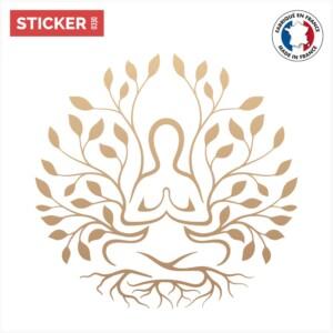 Sticker Arbre De Vie Meditation