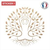 Sticker Arbre De Vie Or