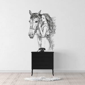 Sticker-cheval-gravure