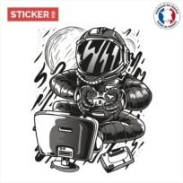 Sticker Gamer Astronaute