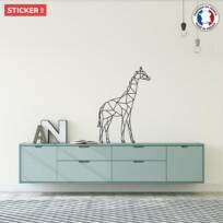 Sticker Girafe Origami