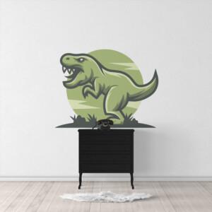 Sticker T-Rex Embleme