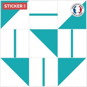 Stickers Carreaux De Ciment Sol Retro