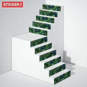 Stickers Escaliers Exotique