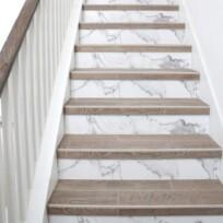 Stickers Escaliers Imitation Marbre
