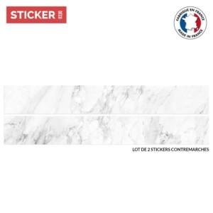 Stickers Escaliers Marbre Imitation