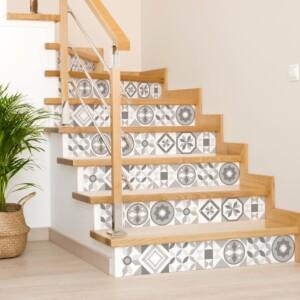 Stickers Escaliers Azulejos