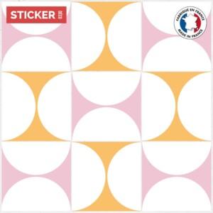 Stickers Sol Carrelage Déco Vintage
