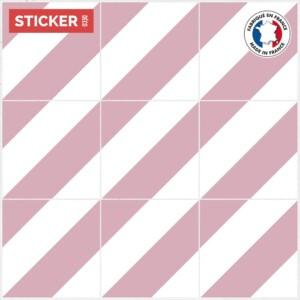 Stickers Sol Carreaux Vintage