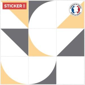 Stickers Carrelage Sol Retro