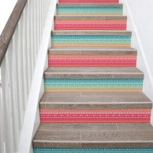 Stickers Escaliers Boho