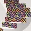 Stickers Escaliers Ethnique