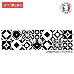 Stickers Escaliers Monochrome