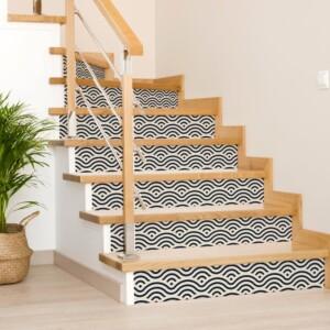 Stickers Escaliers Ornement Orientale