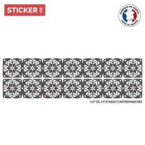 Stickers Escalier Ornement Zellige