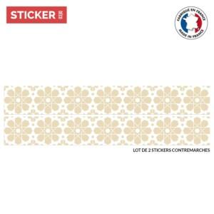 Stickers Escaliers Oiseau Japon