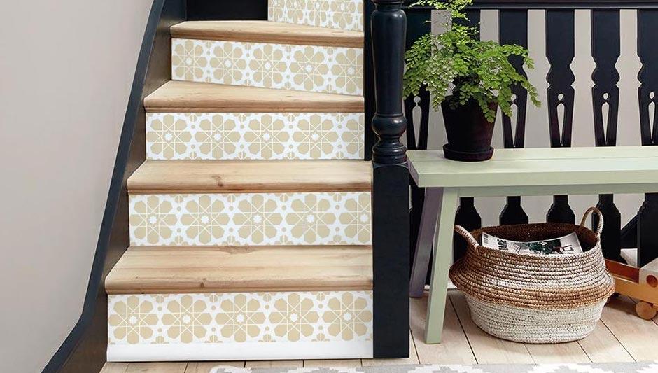 sticker contremarche oriental escalier