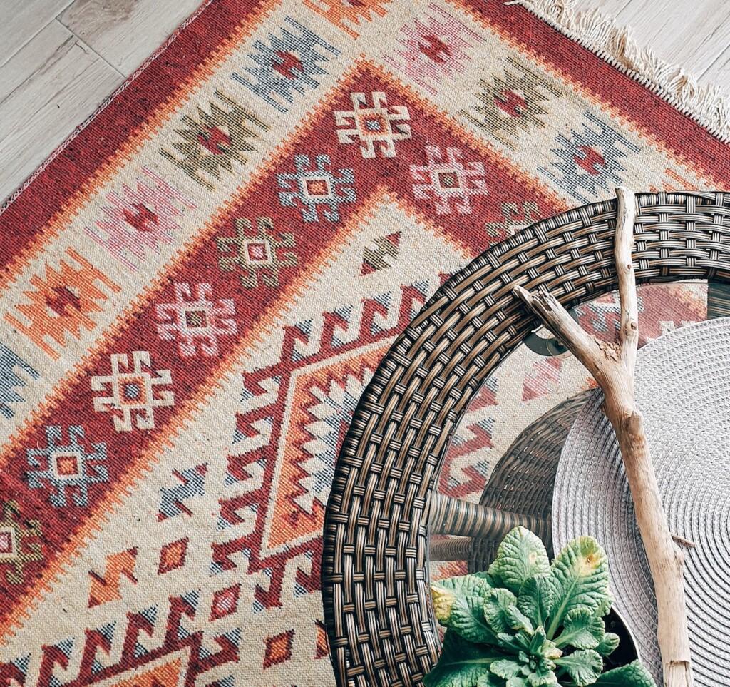 tapis decoration sticker sol