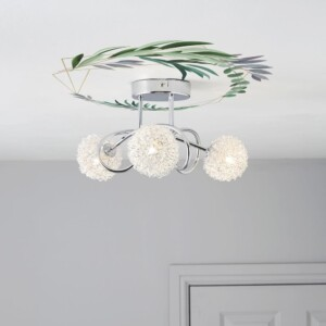 Autocollant Pour Plafond Eucalyptus Or