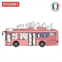 Sticker Chats Blancs Car
