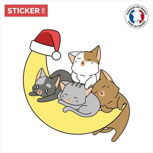 Sticker Chats Mignons