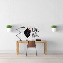 Sticker Citation Love Is Love