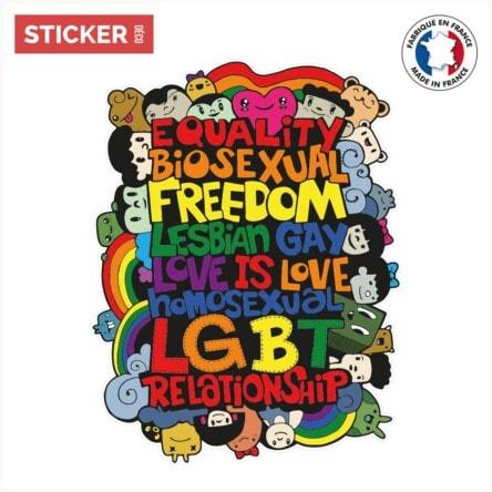 Sticker Communaute Lgbt