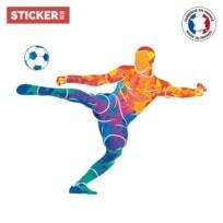 Sticker Football Peinture