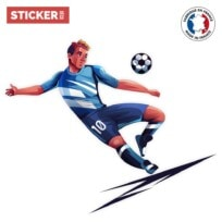 Sticker Football Comics