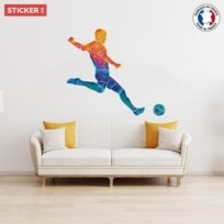 Sticker Football La Frappe