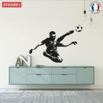 Sticker Football Monochrome