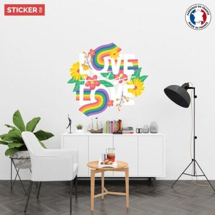 Sticker Love Is Love