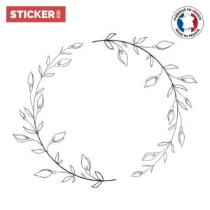 Sticker Plafonnier Branches Doodle
