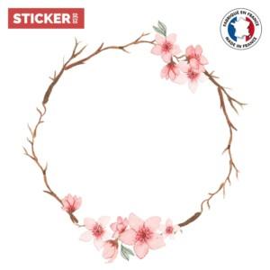 Sticker Plafonnier Branches Fleurie