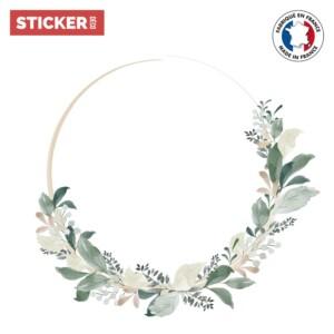 Sticker Plafonnier Floral Branches