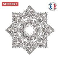 Sticker Pour Plafond Mandala Etoile