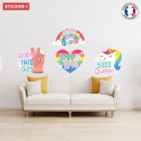 Stickers Lgbt Pack