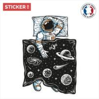 Sticker Cosmonaute Chez Soi