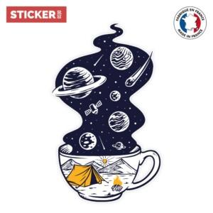Sticker Espace Cafe