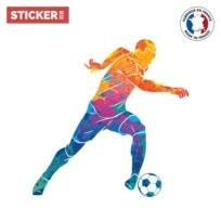 Sticker Football Aquarelle 2