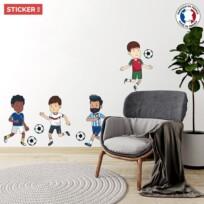 Sticker Footballeurs Cartoon
