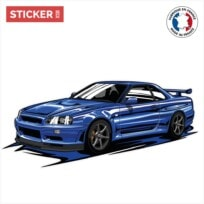 Sticker Skyline