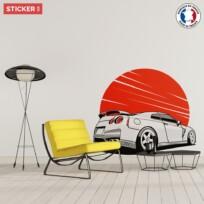 Sticker Sport Car Skyline